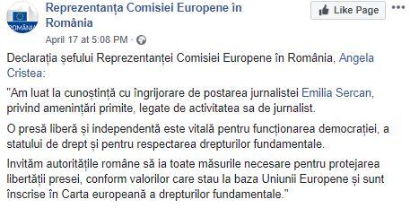 emilia sercan comisia europeana angela cristea
