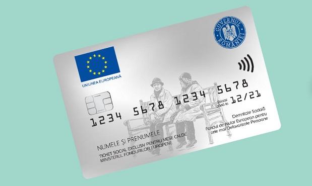 Cardurile persoanelor defavorizate, incarcate cu 720 lei in decembrie