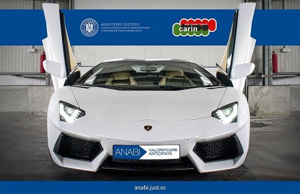Statul roman vinde un Lamborghini si peste 10.000 de litri de motorina