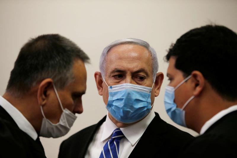 Premierul israelian Netanyahu, judecat de-abia in ianuarie 2021. Masca de protectie, motiv de amanare
