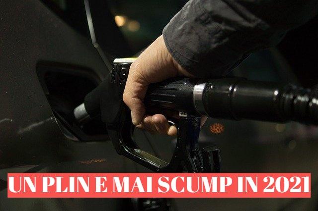 Un plin de 50 de litri e mai scump cu 12 lei in 2021