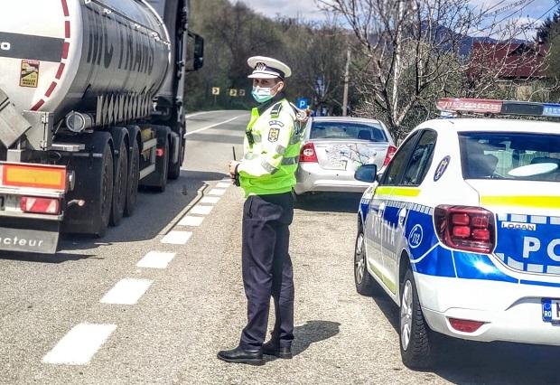 Mita de 500 de euro, refuzata repetat de un politist. Soferul era drogat