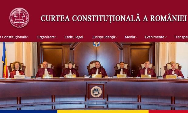 USR ar planui eliminarea superimunitatii judecatorilor CCR