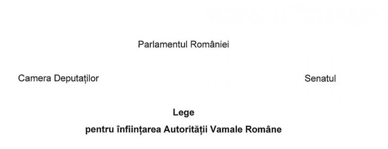 autoritatea vamala romana