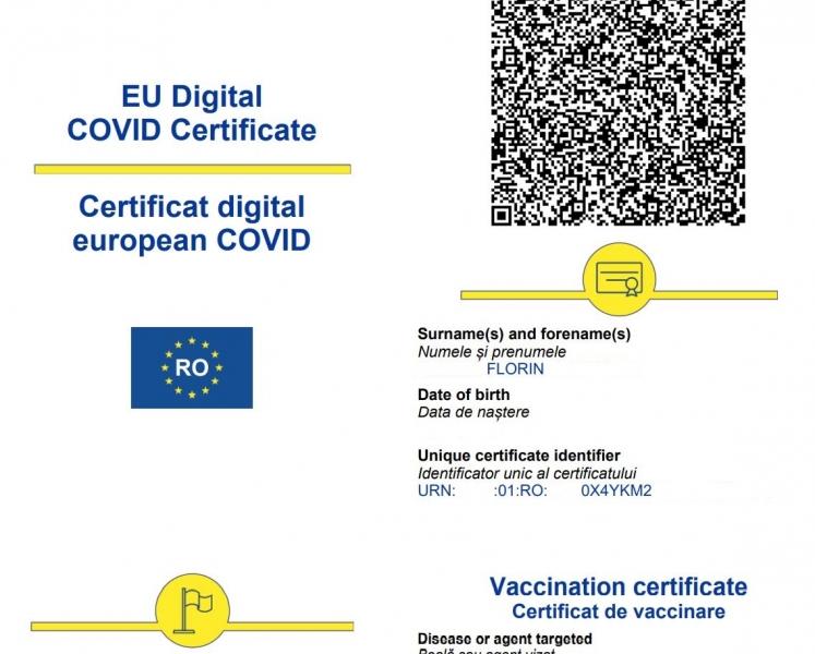 certificat verde covid obligatoriu