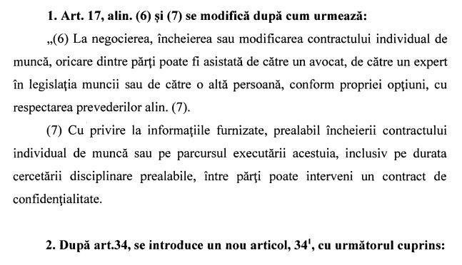 codul muncii modificat gdpr 2019