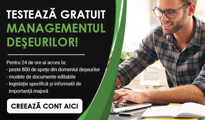 portal managementul deseurilor