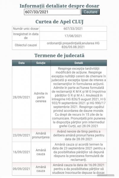 dosar 607/33/2021