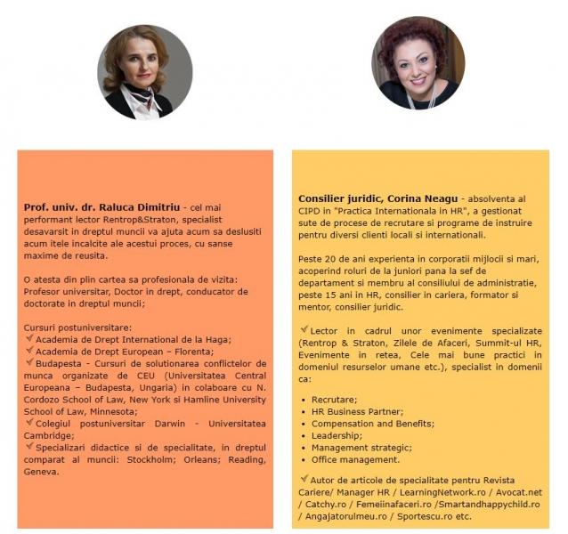 seminar evaluare angajati