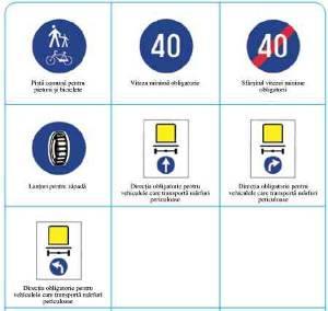 Viteza minima obligatorie 40 km/ora