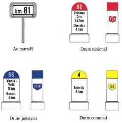 borne kilometrice - Indicatoarea rutiere