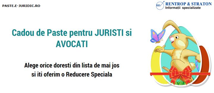 Cadou de Paste pentru Juristi si Avocati Alege orice doresti din lista de mai jos si iti oferim o Reducere Speciala