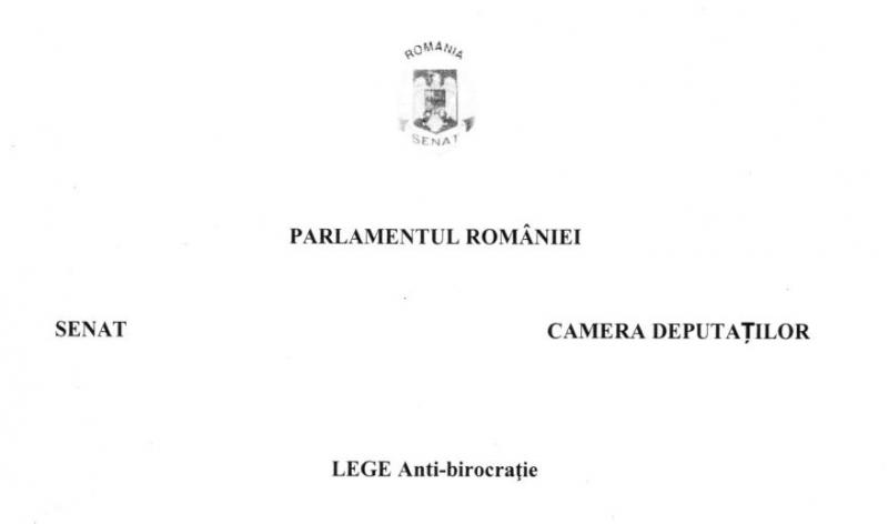 lege anti-birocratie 2019