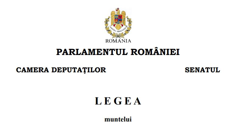 legea muntelui nr. 197/2018