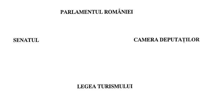 noua lege a turismului