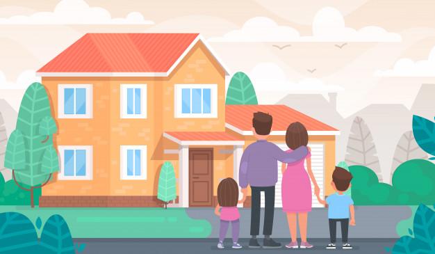 o familie o casa