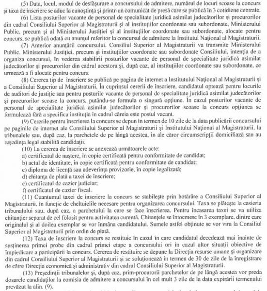 regulament concurs admitere inm 2019
