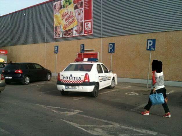 politia amenda parcat locuri handicap