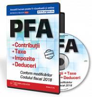 PFA. Contributii, Taxe, Impozite si Deduceri