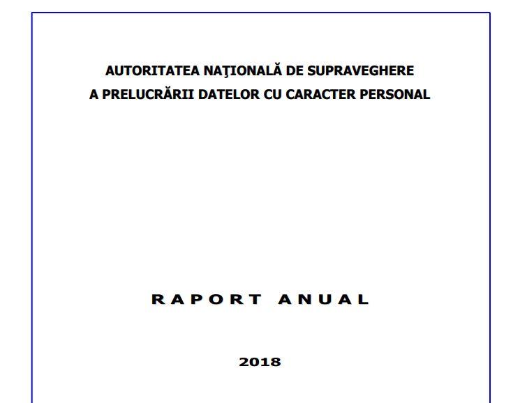raport anspdcp sfaturi firme 2020