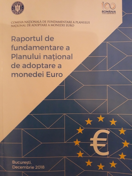 raport fundamentare adoptare euro romania