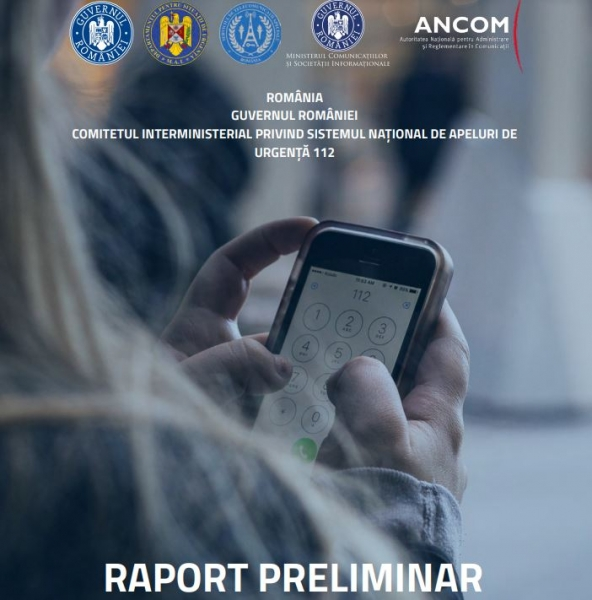 raport serviciu 112