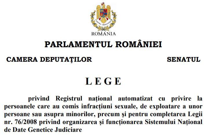 registru national violatori pedofili